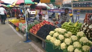 For most small traders, sales has been dull ever since the cash ban was announced. Pic: Bhavani A P