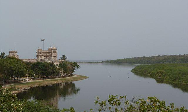 Adyar River, Chennai. Photo: Rajaraman Sundaram/Wikimedia