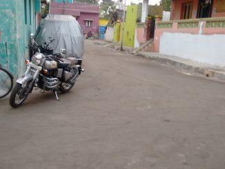 Srinivasa Perumal Koil Street, Division 20, Manali.  Pic: Aarti Madhusudan