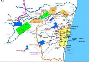 Water Source Surface and Sub Surface for Chennai Metropolitan Region Source: http://jnnurmmis.nic.in/toolkit/CDP_CHENNAI.PDF