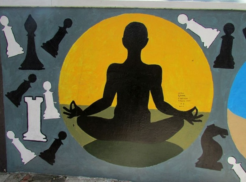 Kotturpuram schoolkids\' mural on school wall is much more than a ...