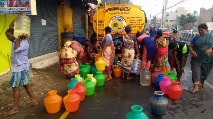 Image result for chennai water scarcity