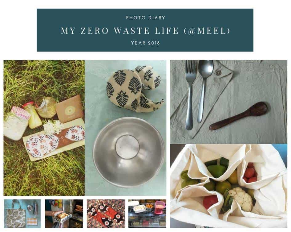Small changes towards a 'zero waste life'