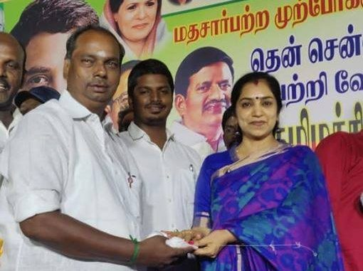 Meet Thamizhachi Thangapandian, MP-elect from South Chennai