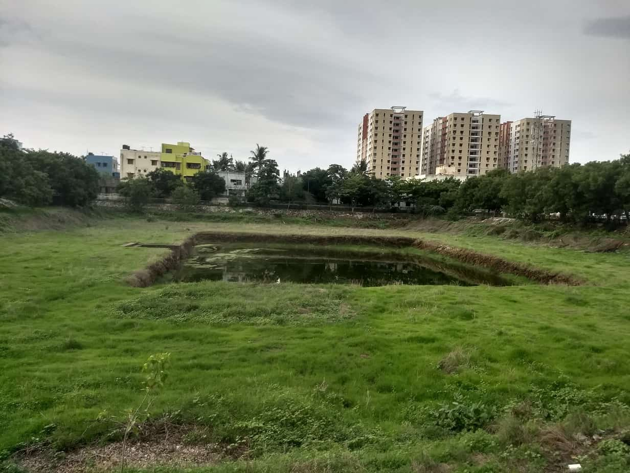 Alatamman temple tank in Rajkilpakkam has been recently desilted due to which it could conserve water.